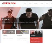 ClubDeGym-Euralille.fr + Logo