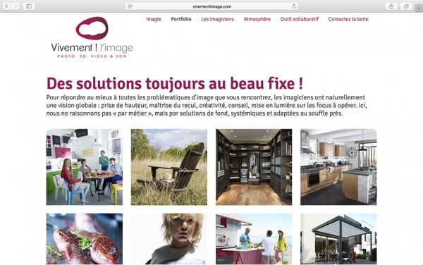 Vivement l'image - Site web par Flow44